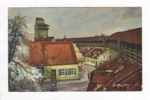 Nordlingen, Germany, 00-10s Reimlinger Tor mit Wehrgang