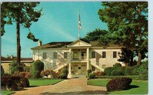 Colton Hall Civic Center First California Constitution Monterey CA Postcard