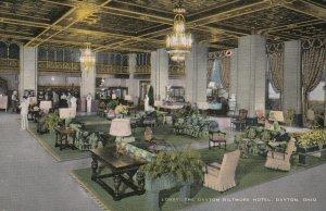 DAYTON , Ohio, 1930-40s ; Lobby , Biltmore Hotel