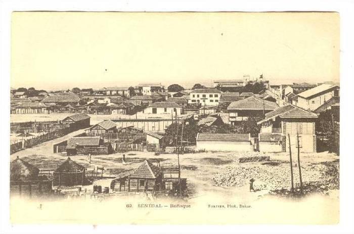 Houses, Rufisque, Dakar, Senegal, Africa, 1900-1910s