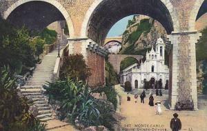 L'Eglise Sainte-Devote, Monte-Carlo, Monaco, 1900-1910s