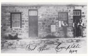 Campbell Post Office Posting Letter Box South Africa Postcard