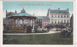 Public Gardens and Bandstand, Weymouth, Dorset,  England, United Kingdom, 10-20s