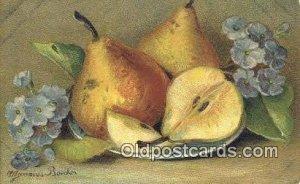 Artist A. Gammius Boecker Series # 151 1909 corner wear