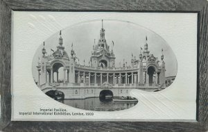 Postcard exhibitions Imperial pavilion Imperial international Exhibition 1909