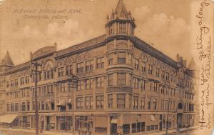 Connersville Indiana~McFarland Building~Hotel~Stores & Shop Ground Floor~1907 PC