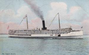 PU-1908; Steamer Calvin Austin, Eastern Steamship Company