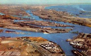 California Los Angeles-Long Beach Harbor Aerial View