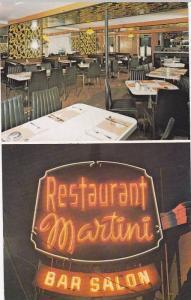 2-views, Restaurant Martini Bar Salon, Quebec,  Canada,  PU_1988
