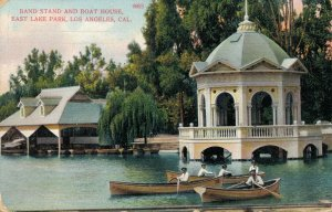 USA - Band Stand And Boat House East Lake Park Los Angeles 03.14