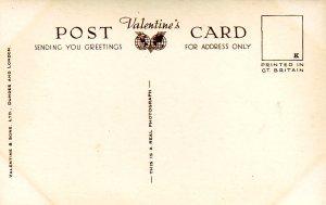 P1290 vintage valentine,s RPPC multiview dumfries scotland