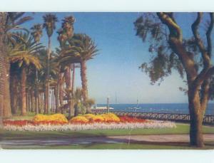 Pre-1980 PARK SCENE Santa Monica California CA hk6765