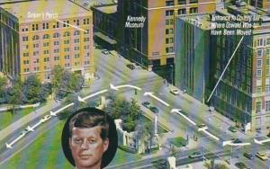 Texas Dallas Dealey Plaza John F Kennedy Assasination Site
