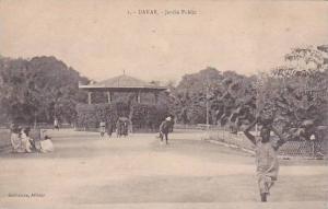 Senegal Dakar Jardin Public