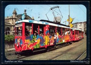 germany, FRANKFURT AM MAIN, Tram, Ebbelwei Express 1979