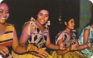 Samoa Samoan Girls Dancing