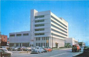 Oklahoma City OK YMCA Building Old Cars Postcard
