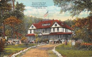 Hot Springs Arkansas~Mountain Valley Hotel & Springs~Guests on Lawn~1910 PC