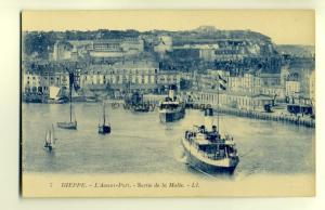 ft1188 - Ferries leaving Dieppe Harbour, France - postcard - LL