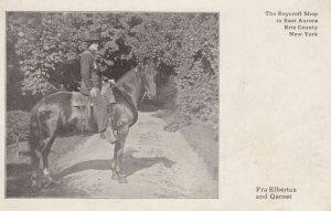 Fra Elbertus & horse Garnet , EAST AURORA , New York , 00-10s