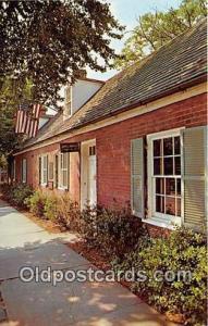 Fredericksburg, VA, USA James Monroe Law Office Museum & Memorial Library
