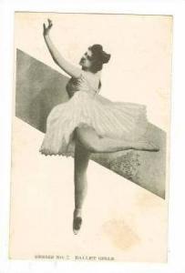 Series No7 Ballet Girls, #9/10 1903