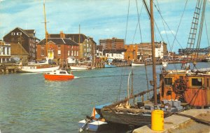 Dorset Postcard, The Quay, Poole, Fishing Boats, Harbour GR2