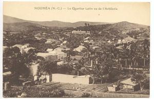 New Caledonia Noumea Le Quartier Latin ve de L'Artillerie Postcard