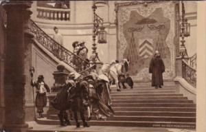 Jean Leon Gerome L'Eminence Grise Friar Joseph Descending Staircase At Cardin...