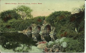 Boston, Mass., Agassiz Bridge, Back Bay Fens