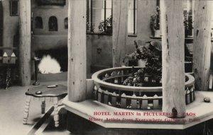 RP: TAOS , New Mexico , 1920-30s ; Hotel Martin , Interior