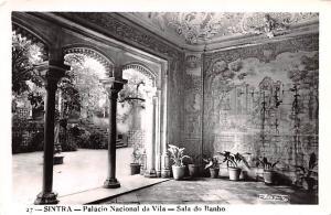 Portugal Old Vintage Antique Post Card Palacio Nacional da Vila Sintra Unused