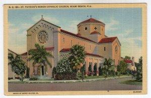 Miami Beach, Fla., St. Patrick's Roman Catholic Church