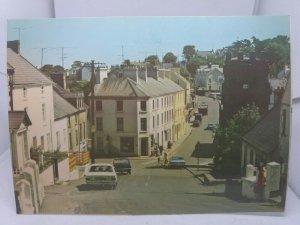 Vintage Postcard Cushendall Co Antrim View of High Street 1970s