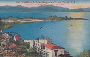 CANNES, Alpes Maritimes, France, Islands of Sainte-Marguerite, View on the Es...