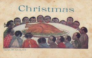CHRISTMAS , Dinner , Artist Wall , 1908