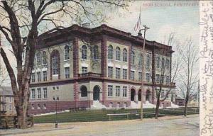 Rhode Island Pawtucket High School 1909