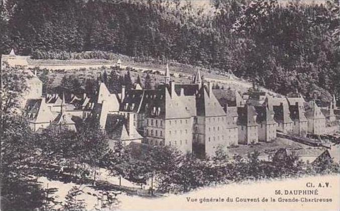 France Dauphine Vue generale du Convent de la Grande Chartreuse