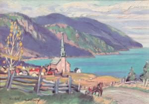 BAS - QUEBEC , St. Simeon (Charlevoix) , Canada , 30-50s ; Artist Andre Morency