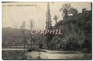 Postcard Old Mill Clecy Deversoir