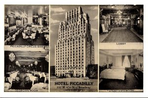 New York City Hotel Piccadilly Multi View