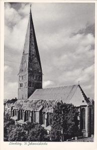 LUNEBURG, Lower Saxony, Germany, 1900-1910's; St. Johanniskirche