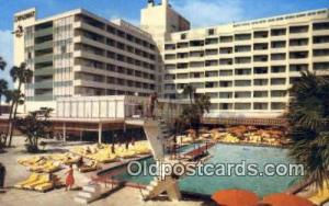 Diplomat, Hollywood by the Sea, FL, USA Motel Hotel Postcard Post Card Old Vi...