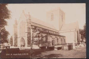 Wales Postcard - St Asaph Cathedral From The South-West   DC1162