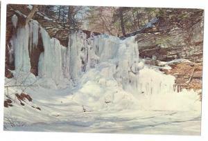 Frozen Waterfall Ricketts Glen Harrison Wright Falls PA