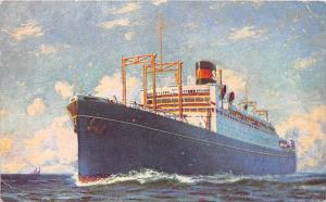 5436  S.S. President Coolidge    Dollar Steamship Line,
