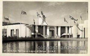 British Pavillion New York Worlds Fair 1939 Exhibition Unused