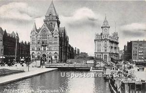 Packet Dock Syracuse NY Unused