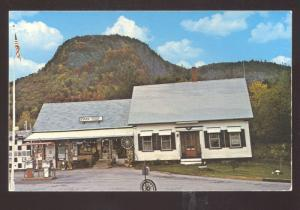 STARK NEW HAMPSHIRE NH GENERAL STORE GAS STATION ADVERTISING POSTCARD