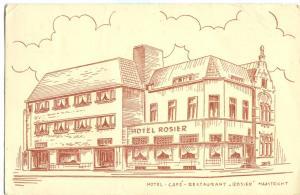 Netherlands, Hotel Café Restaurant Rosier, Maastricht